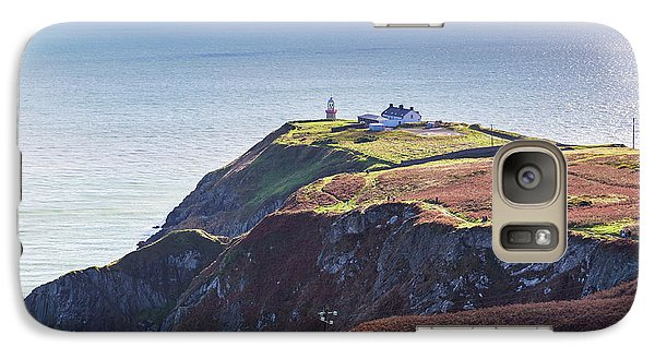 Galaxy Case featuring the photograph View Of The Trails On Howth Cliffs And Howth Head In Ireland by Semmick Photo