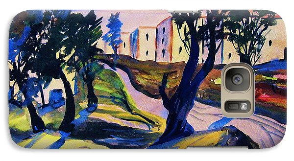 Galaxy Case featuring the painting Villefranche by Roberto Prusso