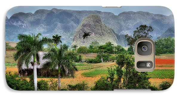 Vinales. Pinar Del Rio. Cuba Galaxy S7 Case