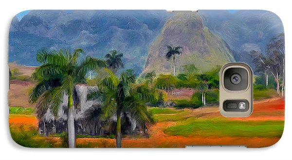 Vinales Valley. Cuba Galaxy S7 Case