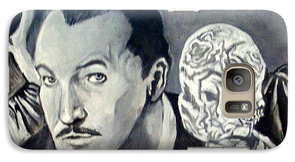 Galaxy Case featuring the painting Vincent Price by Paul Weerasekera