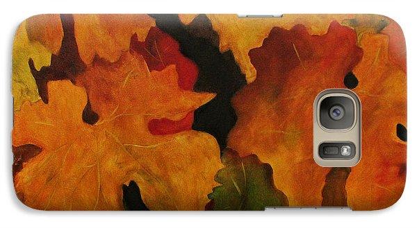 Galaxy Case featuring the painting Vine Leaves by John Stuart Webbstock