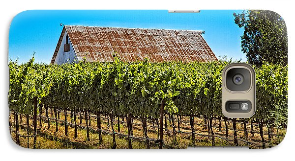Galaxy Case featuring the photograph Vines And Barn by Kim Wilson