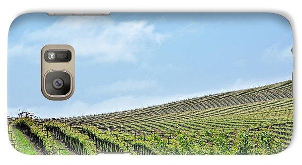 Vineyard Hillside Galaxy S7 Case