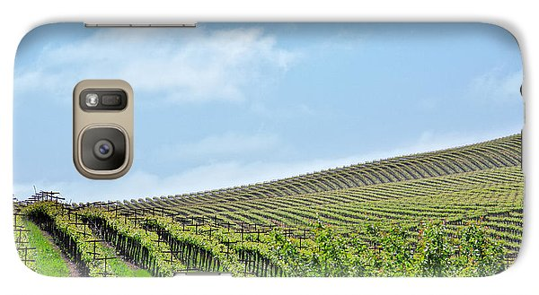 Galaxy Case featuring the photograph Vineyard Hillside by Kim Wilson
