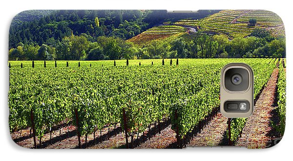 Vineyards In Sonoma County Galaxy S7 Case