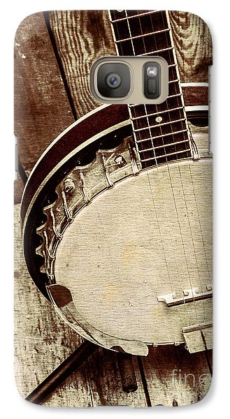 Vintage Banjo Barn Dance Galaxy S7 Case