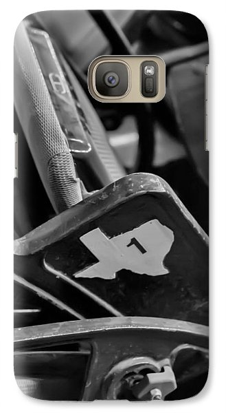 Galaxy Case featuring the photograph Vintage Baseball Chairs by Joshua House