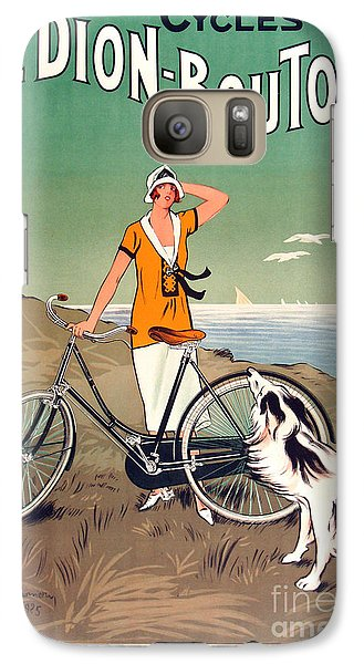 Vintage Bicycle Advertising Galaxy S7 Case