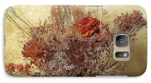 Galaxy Case featuring the photograph Vintage Bouquet by Jessica Jenney