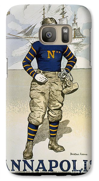 Vintage College Football Annapolis Galaxy S7 Case