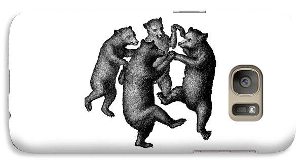 Vintage Dancing Bears Galaxy S7 Case