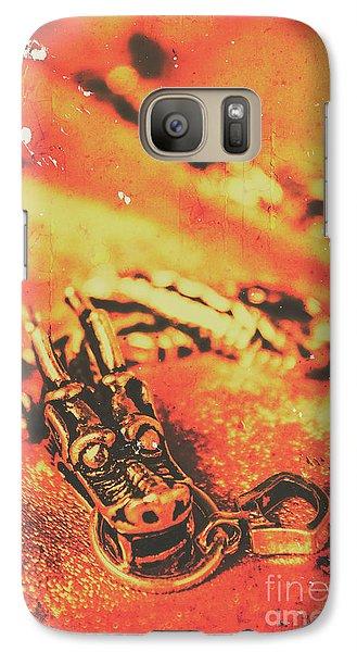 Dragon Galaxy S7 Case - Vintage Dragon Charm by Jorgo Photography - Wall Art Gallery