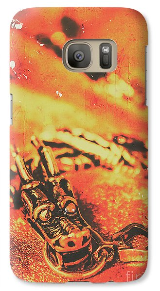 Dragon Galaxy S7 Case - Vintage Dragon Charm by Jorgo Photography - Wall Art Gallery