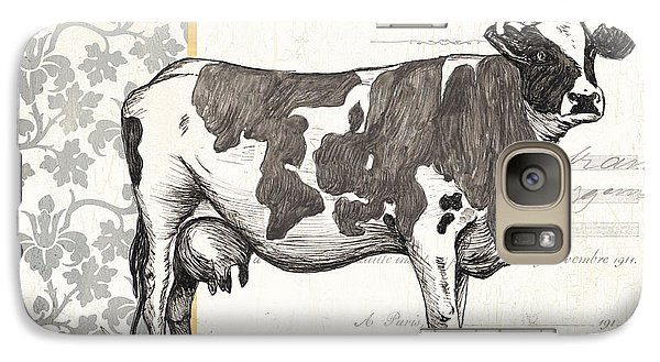 Vintage Farm 4 Galaxy Case by Debbie DeWitt