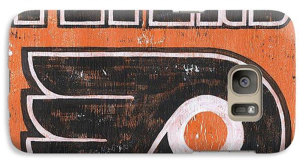 Vintage Flyers Sign Galaxy Case by Debbie DeWitt