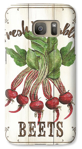 Galaxy Case featuring the painting Vintage Fresh Vegetables 1 by Debbie DeWitt