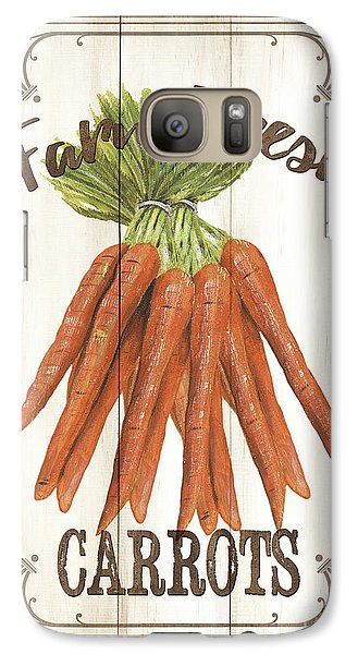 Galaxy Case featuring the painting Vintage Fresh Vegetables 3 by Debbie DeWitt