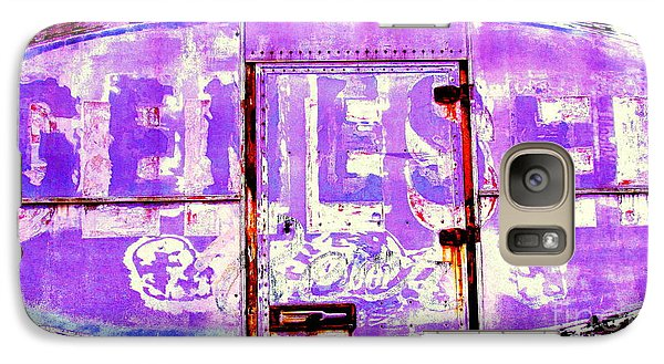 Galaxy Case featuring the photograph Vintage Industrial Genesee Beer Sign by Peter Gumaer Ogden