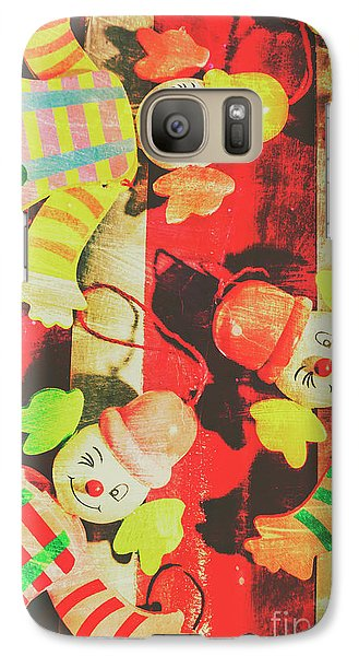 Galaxy Case featuring the photograph Vintage Pull String Puppets by Jorgo Photography - Wall Art Gallery