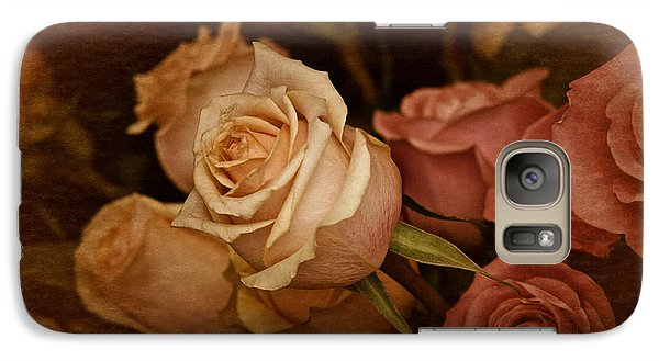 Galaxy Case featuring the photograph Vintage Roses March 2017 by Richard Cummings