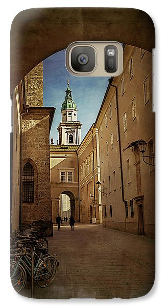 Galaxy Case featuring the photograph Vintage Salzburg by Carol Japp