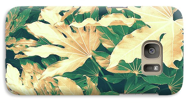 Galaxy Case featuring the photograph Vintage Season Gold by Rebecca Harman