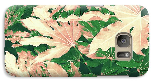 Galaxy Case featuring the photograph Vintage Season Pink by Rebecca Harman