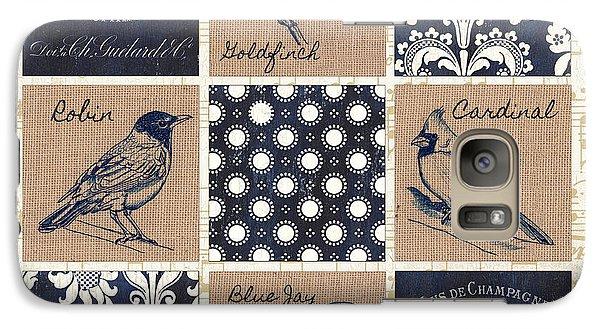 Robin Galaxy S7 Case - Vintage Songbirds Patch by Debbie DeWitt
