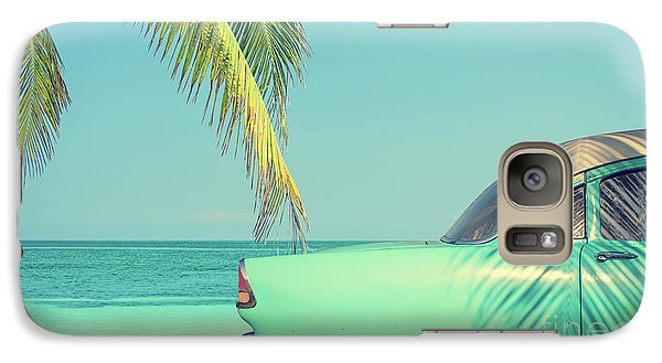 Galaxy Case featuring the photograph Vintage Summer by Delphimages Photo Creations