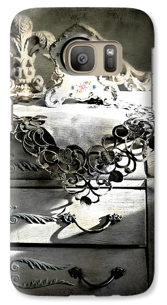 Galaxy Case featuring the photograph Vintage Time by Diana Angstadt