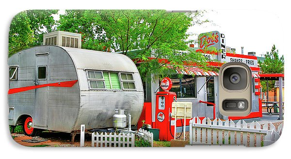Vintage Trailer And Diner In Bisbee Arizona Galaxy S7 Case
