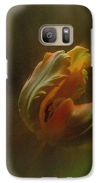 Galaxy Case featuring the photograph Vintage Tulip March 2017 by Richard Cummings