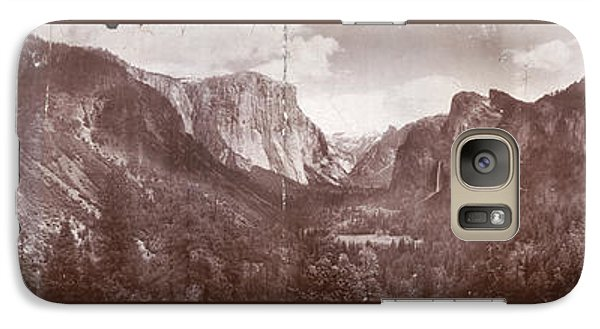 Galaxy Case featuring the photograph Vintage Yosemite Valley 1899 by John Stephens