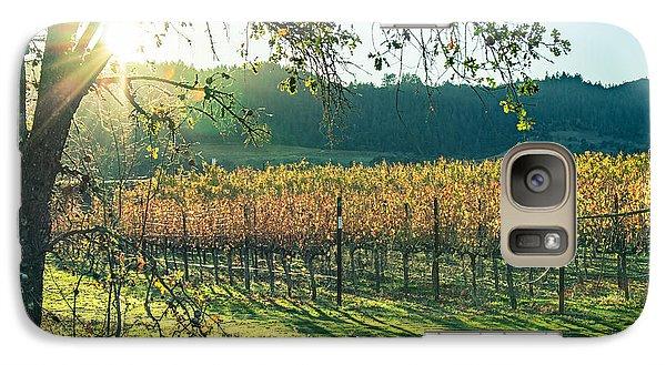 Vinyard Sunset Galaxy S7 Case
