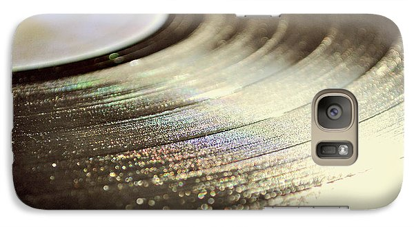 Galaxy Case featuring the photograph Vinyl Record by Lyn Randle