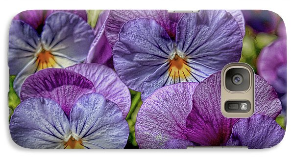 Galaxy Case featuring the photograph Viola by Bonnie Willis
