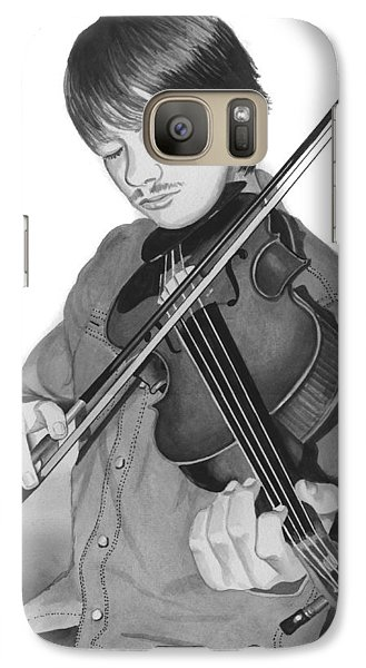 Galaxy Case featuring the painting Viola Master by Ferrel Cordle