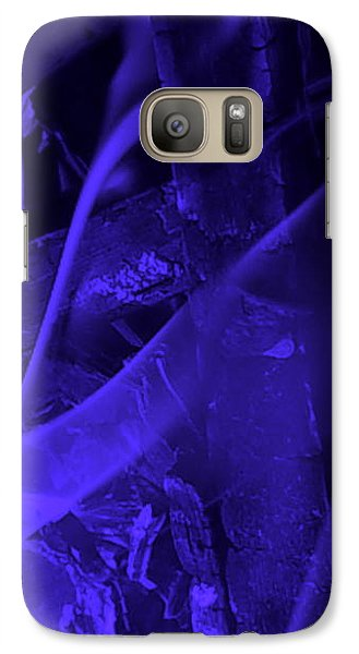 Galaxy S7 Case - Violet Shine I by Orphelia Aristal