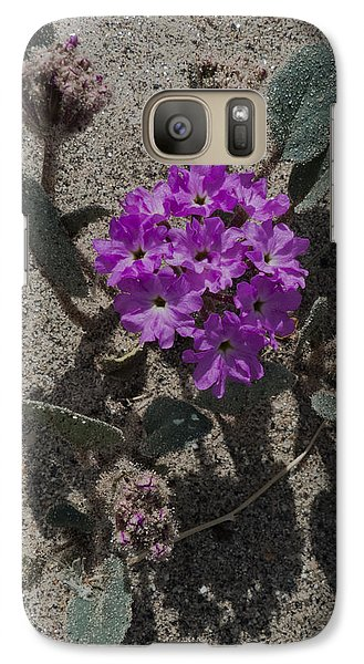 Galaxy Case featuring the photograph Violets In The Sand by Jeremy McKay