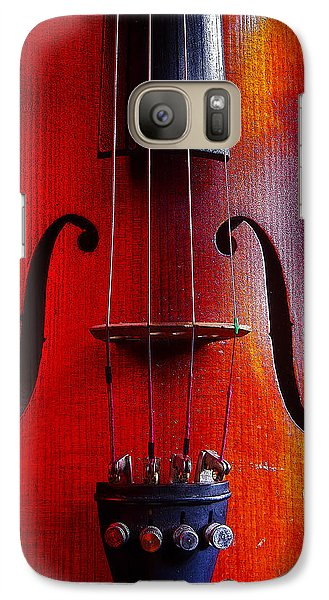 Galaxy Case featuring the photograph Violin # 2 by Jim Mathis