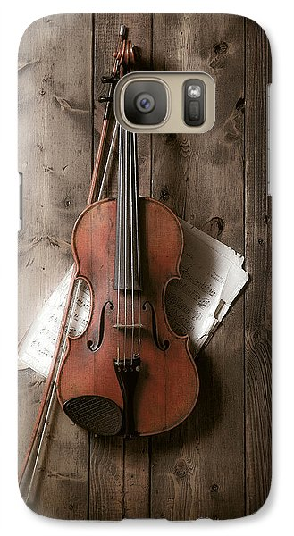 Violin Galaxy S7 Case by Garry Gay