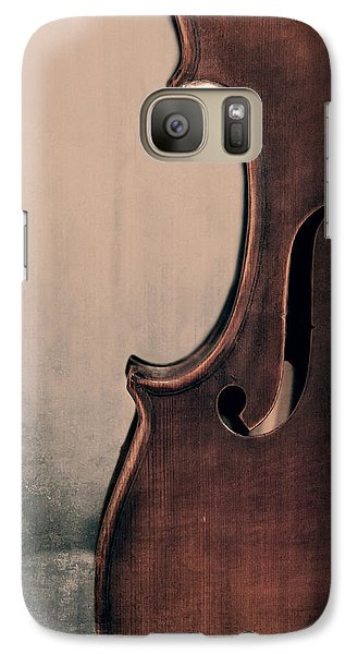 Violin Galaxy S7 Case - Violin Portrait  by Emily Kay