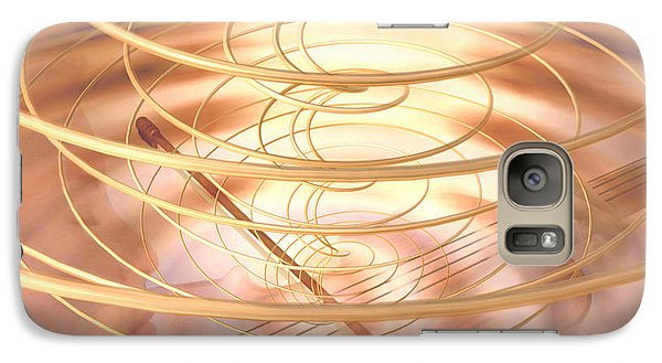 Galaxy Case featuring the painting Violin by Robby Donaghey