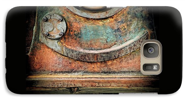 Galaxy Case featuring the photograph Virginia City Rust by Steve Siri