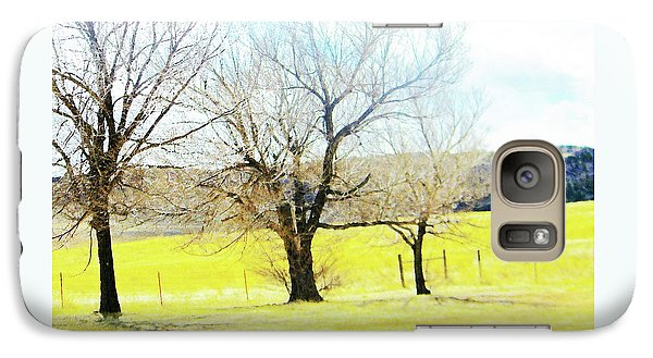 Galaxy Case featuring the photograph Virginia Dale-three Trees by Lenore Senior