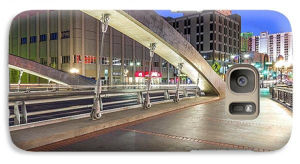Galaxy Case featuring the photograph Virginia Street Bridge Reno Nevada by Scott McGuire