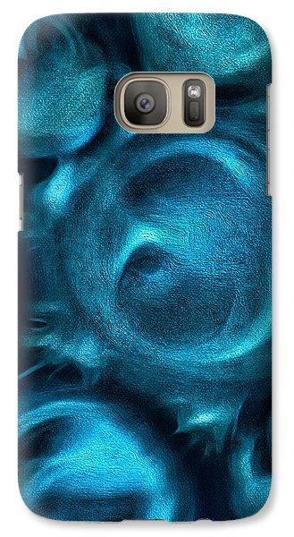 Galaxy Case featuring the photograph Visceral by Mark Fuller