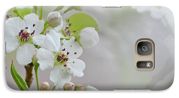 Galaxy Case featuring the photograph Visions Of White by Traci Cottingham