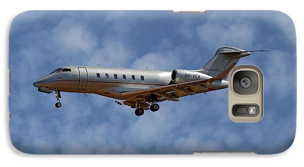 Jet Galaxy S7 Case - Vista Jet Bombardier Challenger 300 1 by Smart Aviation